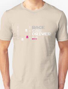 Race car driver Unisex T-Shirt