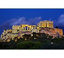 The Parthenon & the Propylaea Photographic Print