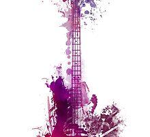 Prince Rogers Nelson Guitar by JBJart