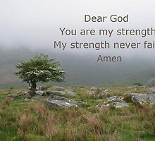 Prayer for strength by Katherine T Owen, Author