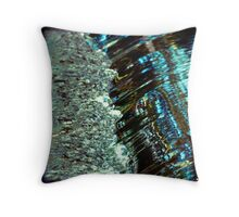 Painted Rush Throw Pillow