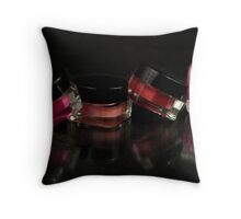 "Salon Art ""Lip Gloss"" Throw Pillow"