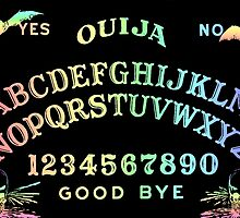 Pastel Rainbow Ouija by annarkist