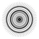 Scribbled Mandala by aciddream