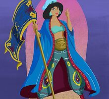 Princesses of Wrestling: Jasmine the Iron Sheikha by Mike Kendrick