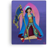 Princesses of Wrestling: Jasmine the Iron Sheikha Canvas Print