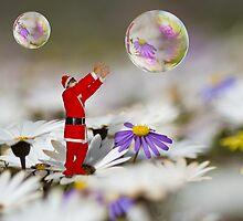 Xmas bubbles by Bennie Vivier