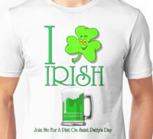 I Love Irish Beer Unisex T-Shirt