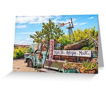 Mall Truck Greeting Card