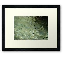 martian landscape Framed Print