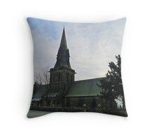 St Barnabas, Weeton Throw Pillow