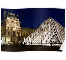 Le Louvre Poster