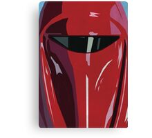 Red Imperial Guard Star Wars Print  Canvas Print