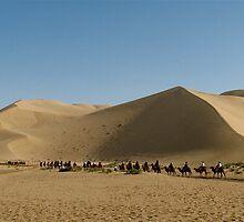 Mingsha Mountain, Dun Huang, China by C1oud