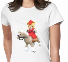 The bareback rider Womens Fitted T-Shirt