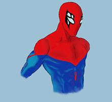Spider-Man Alternative Suit Design Bust (Blue) Unisex T-Shirt