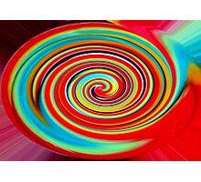 Lollypop swirl Photographic Print