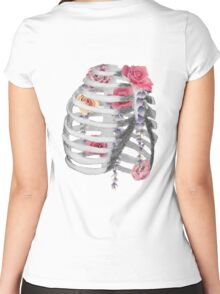 Floral Air Women's Fitted Scoop T-Shirt
