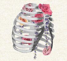 Floral Air Zipped Hoodie