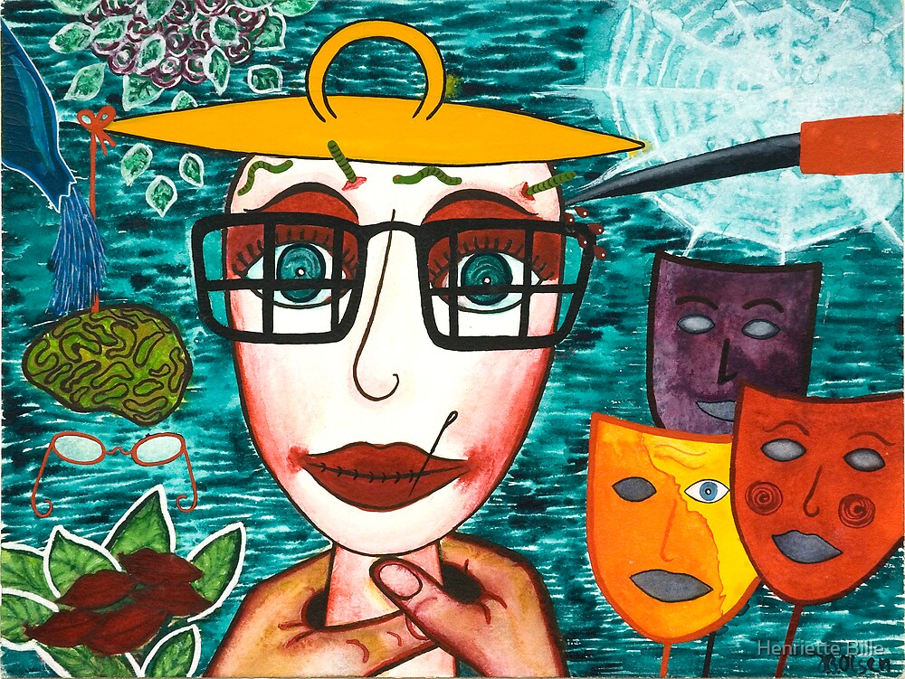 I'm grateful to the world by Henriette Bille