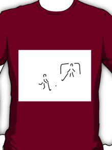 hockey field hockey rolling hockey player T-Shirt