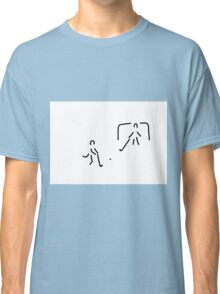hockey field hockey rolling hockey player Classic T-Shirt