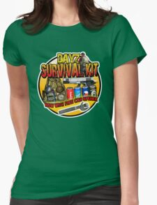 Zombie Survival Kit Womens Fitted T-Shirt