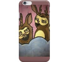 Rabbit Elk Merch iPhone Case/Skin