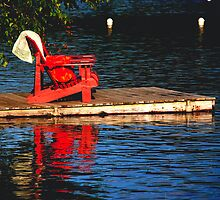 RED    CHAIR  by Luca Renoldi
