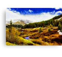 The great north Canvas Print