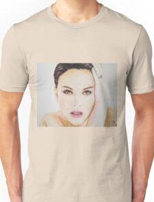 Natalie Portman, Pastels Portrait, by James Patrick Unisex T-Shirt