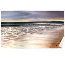 High Tide - East Beach Poster