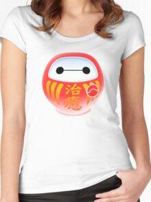 DARUMAX Women's Fitted Scoop T-Shirt