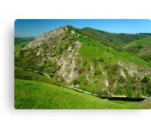 Bunster Hill from Thorpe Cloud  Canvas Print