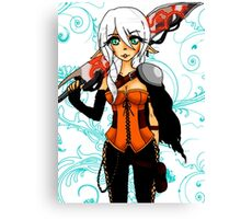 Elf Warrior Canvas Print