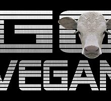 GO VEGAN CALF by fuxart