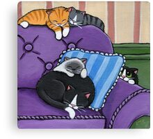 There's Always One! Canvas Print
