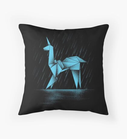 HUMAN OR REPLICANT Throw Pillow