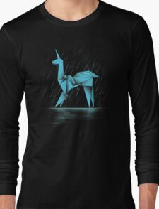 HUMAN OR REPLICANT Long Sleeve T-Shirt