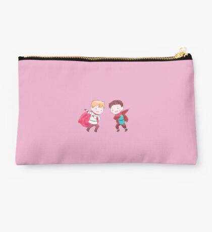 Merlin and Arthur Studio Pouch