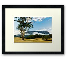Mt Roland,Tasmania Framed Print
