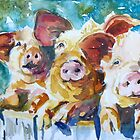 Wee 3 Pigs by twopoots