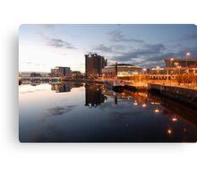 Belfast Waterfront Canvas Print