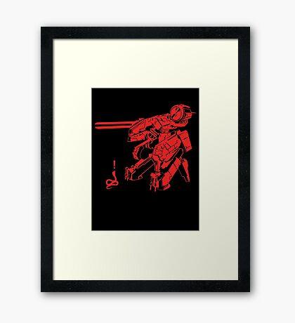 MG-REX Framed Print