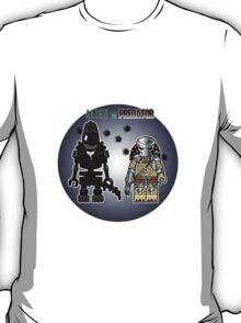 Alien vs Predator - Character, Brick Minifigure T-Shirt