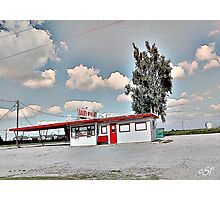Drive by Oklahoma...Dairymart.  Photographic Print