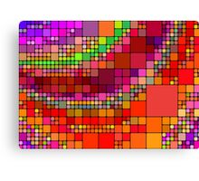 Colorful squares Canvas Print