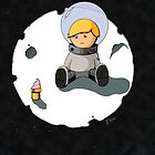 Sad Astronaut Boy by labreject