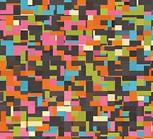 Colorful pixels by lalylaura