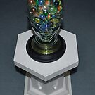 Glass Marble Head. by nawroski .